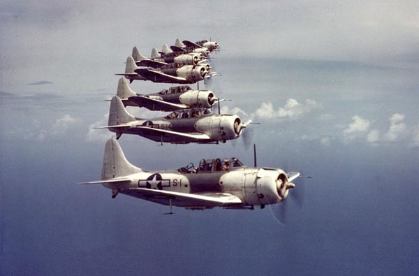 SBD-5 formation in Atlantic paint scheme